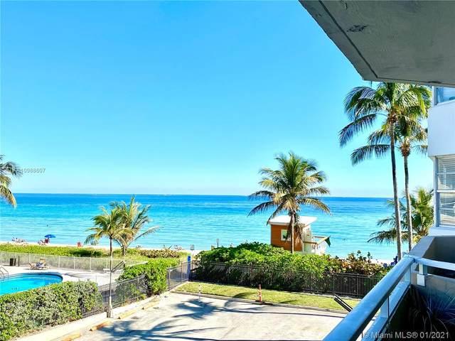 1950 S Ocean Dr 2M, Hallandale Beach, FL 33009 (MLS #A10988607) :: Patty Accorto Team