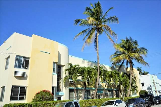637 12th St #6, Miami Beach, FL 33139 (MLS #A10988656) :: Miami Villa Group