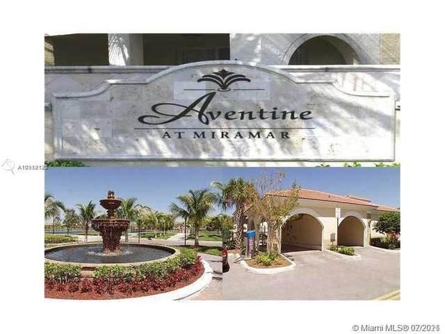 2541 Centergate Dr #205, Miramar, FL 33025 (MLS #A10989125) :: Green Realty Properties