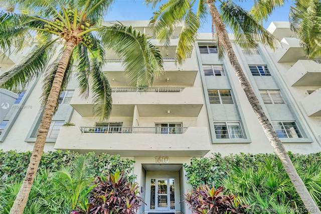 1610 Lenox Ave #205, Miami Beach, FL 33139 (MLS #A10989176) :: Miami Villa Group