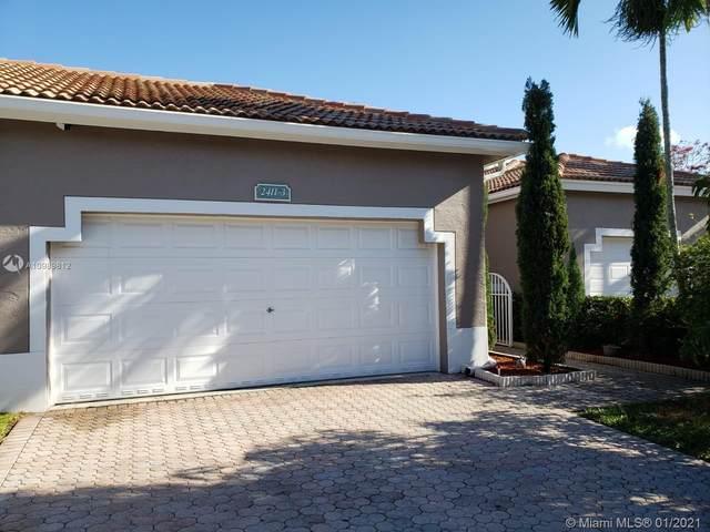 2411 Aragon Blvd #3, Sunrise, FL 33322 (MLS #A10989812) :: The Rose Harris Group