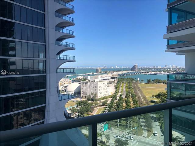 900 Biscayne Blvd #1812, Miami, FL 33132 (MLS #A10990118) :: Podium Realty Group Inc