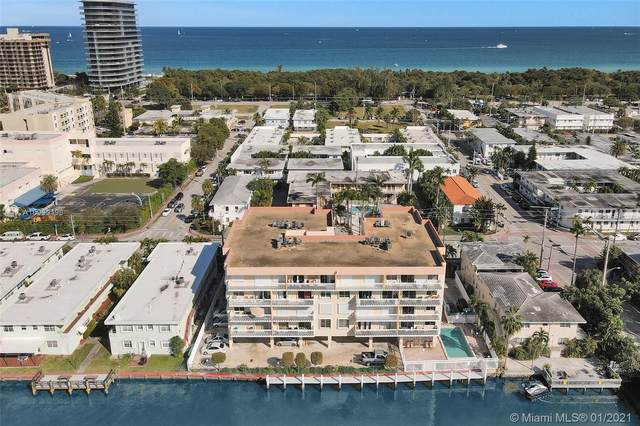 8530 Byron Ave #307, Miami Beach, FL 33141 (MLS #A10990198) :: The Pearl Realty Group