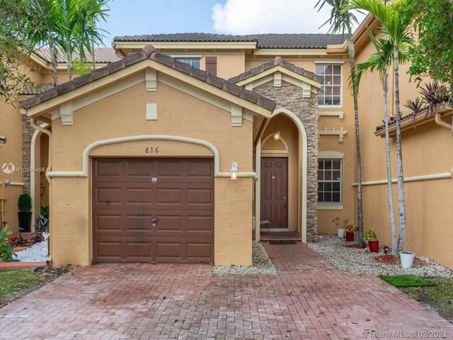 836 SW 154th Ct, Miami, FL 33194 (MLS #A10990468) :: The Riley Smith Group