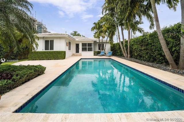 5456 La Gorce Dr, Miami Beach, FL 33140 (MLS #A10990652) :: Berkshire Hathaway HomeServices EWM Realty