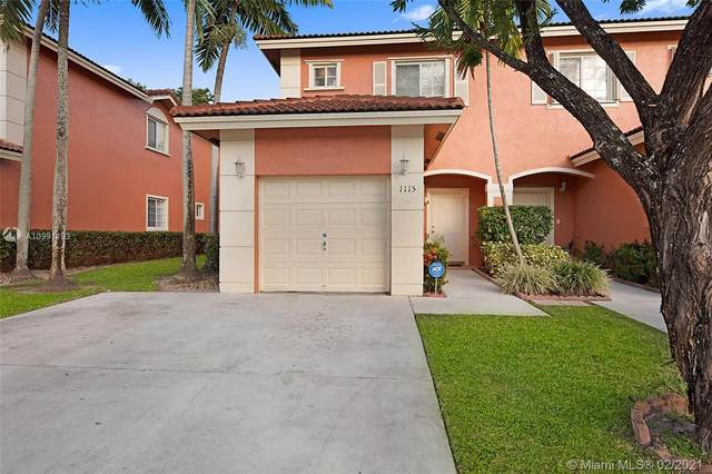 1115 NW 100th Ave #1115, Pembroke Pines, FL 33024 (MLS #A10991193) :: The Riley Smith Group