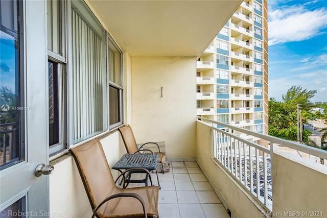 3180 S Ocean Dr #422, Hallandale Beach, FL 33009 (MLS #A10991271) :: Green Realty Properties