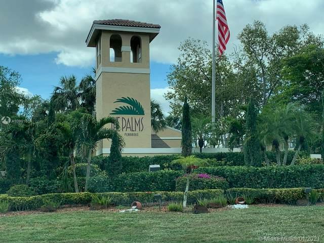321 E Palm Cir E #321, Pembroke Pines, FL 33025 (MLS #A10991614) :: Search Broward Real Estate Team