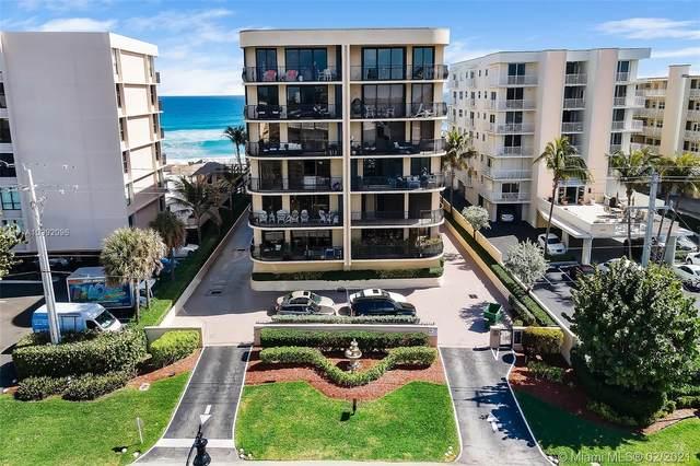4000 S Ocean Boulevard #201, South Palm Beach, FL 33480 (MLS #A10992096) :: Carlos + Ellen