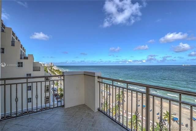 601 N Ft Lauderdale Beach Blvd #902, Fort Lauderdale, FL 33304 (MLS #A10992241) :: Green Realty Properties