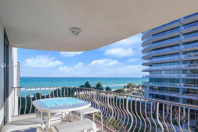 8777 Collins Ave #608, Surfside, FL 33154 (MLS #A10992314) :: Green Realty Properties