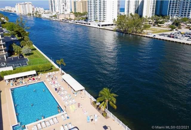 600 Parkview Dr #511, Hallandale Beach, FL 33009 (MLS #A10992649) :: The Teri Arbogast Team at Keller Williams Partners SW