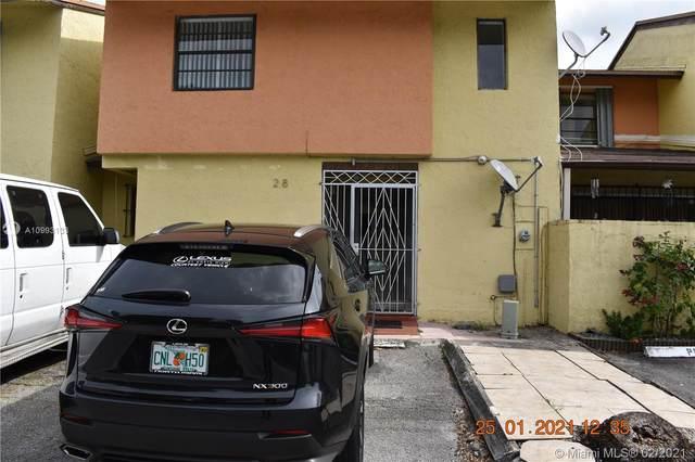 9674 Fontainebleau Blvd #28, Miami, FL 33172 (MLS #A10993133) :: Castelli Real Estate Services