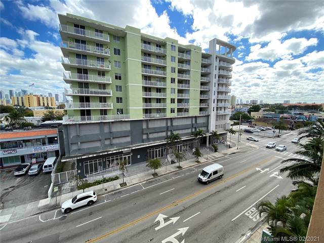 218 NW 12th Ave #609, Miami, FL 33128 (MLS #A10993375) :: Prestige Realty Group
