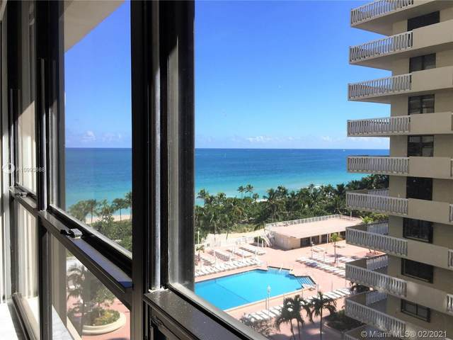 9801 Collins Ave 10F, Bal Harbour, FL 33154 (MLS #A10993668) :: Green Realty Properties