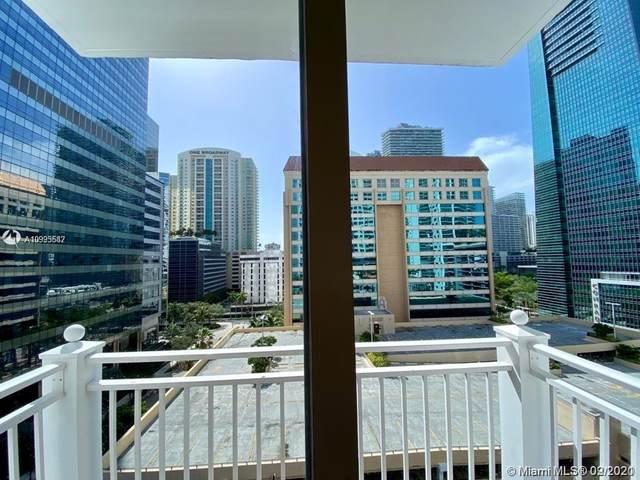 185 SE 14th Ter #1009, Miami, FL 33131 (MLS #A10993682) :: Green Realty Properties