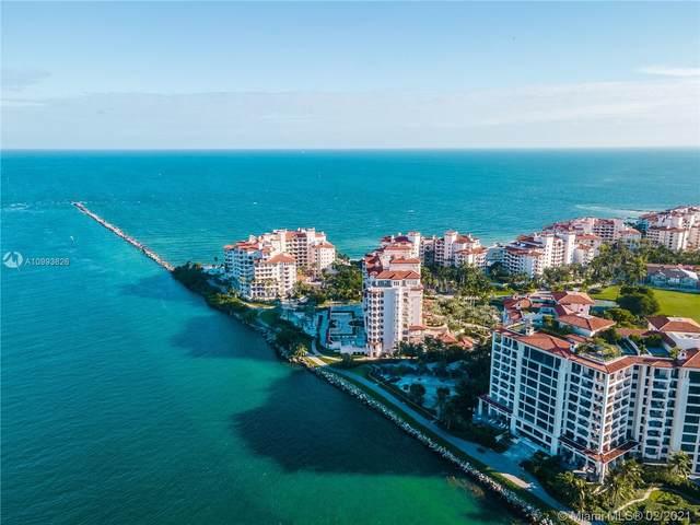 7035 Fisher Island Drive #7035, Miami Beach, FL 33109 (MLS #A10993826) :: Green Realty Properties