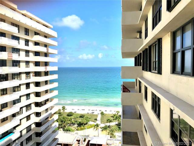 9801 Collins Ave 17X, Bal Harbour, FL 33154 (MLS #A10993932) :: Green Realty Properties