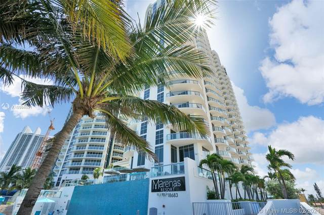 18683 Collins Ave #1409, Sunny Isles Beach, FL 33160 (MLS #A10994021) :: The Teri Arbogast Team at Keller Williams Partners SW