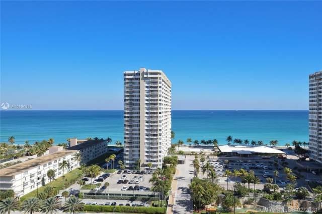 1965 S Ocean Dr 15F, Hallandale Beach, FL 33009 (MLS #A10994398) :: Green Realty Properties