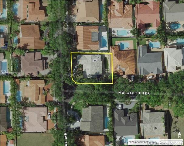 16821 NW 79th Pl, Miami Lakes, FL 33016 (MLS #A10994910) :: Green Realty Properties