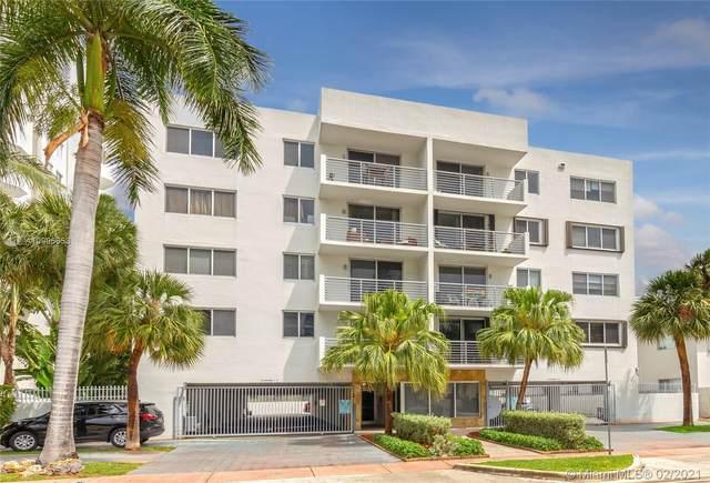 1605 Bay Rd #408, Miami Beach, FL 33139 (MLS #A10995653) :: Team Citron