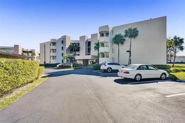 5651 Camino Del Sol #303, Boca Raton, FL 33433 (MLS #A10995838) :: Green Realty Properties
