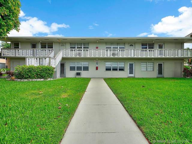 164 Salisbury G, West Palm Beach, FL 33417 (MLS #A10995863) :: Green Realty Properties