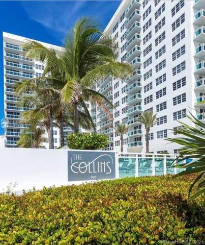6917 Collins Ave #607, Miami Beach, FL 33141 (MLS #A10995881) :: Podium Realty Group Inc