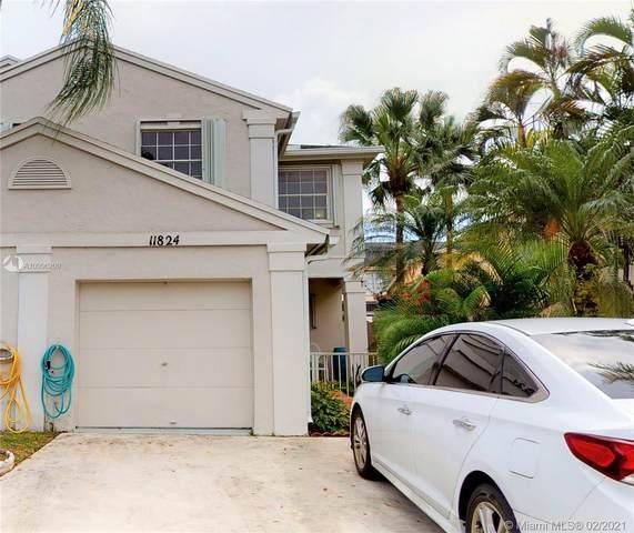 11824 SW 99th St #11824, Miami, FL 33186 (MLS #A10996209) :: Berkshire Hathaway HomeServices EWM Realty