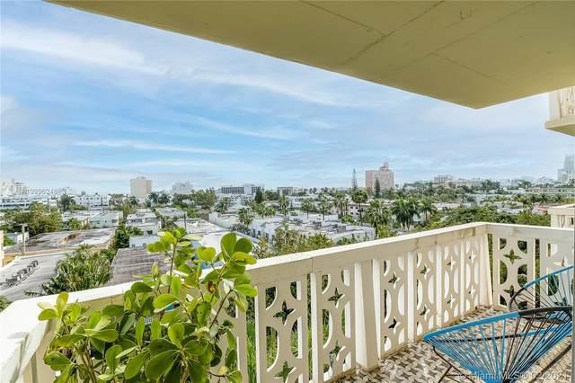 1020 Meridian Ave #706, Miami Beach, FL 33139 (MLS #A10996248) :: Green Realty Properties