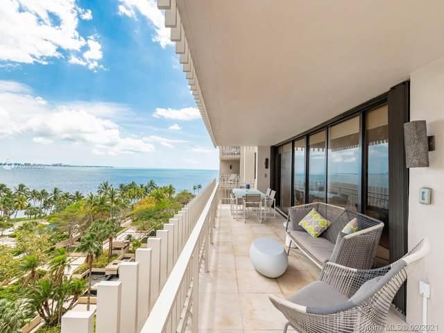 1 Grove Isle Dr A809, Miami, FL 33133 (MLS #A10996620) :: Prestige Realty Group
