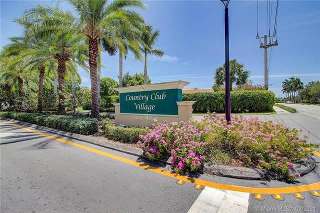 16200 Golf Club Rd #213, Weston, FL 33326 (MLS #A10996765) :: ONE | Sotheby's International Realty