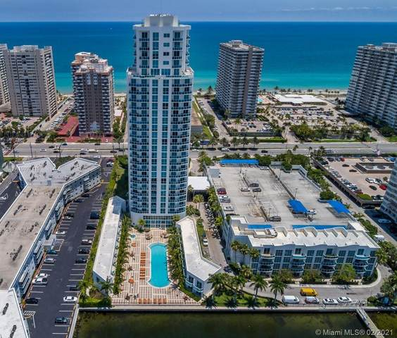1945 S Ocean Dr #807, Hallandale Beach, FL 33009 (MLS #A10997110) :: Green Realty Properties