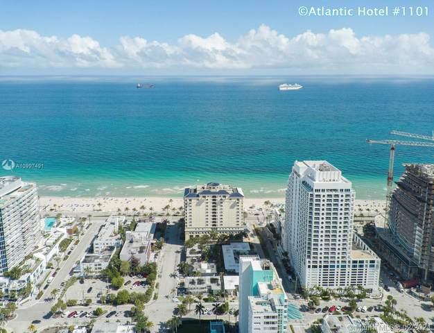 601 N Fort Lauderdale Beach Blvd #1101, Fort Lauderdale, FL 33304 (MLS #A10997491) :: Green Realty Properties