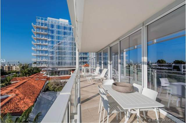 9001 Collins Ave S510, Surfside, FL 33154 (MLS #A10997496) :: Search Broward Real Estate Team