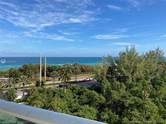 100 Bayview Dr #716, Sunny Isles Beach, FL 33160 (MLS #A10997584) :: KBiscayne Realty