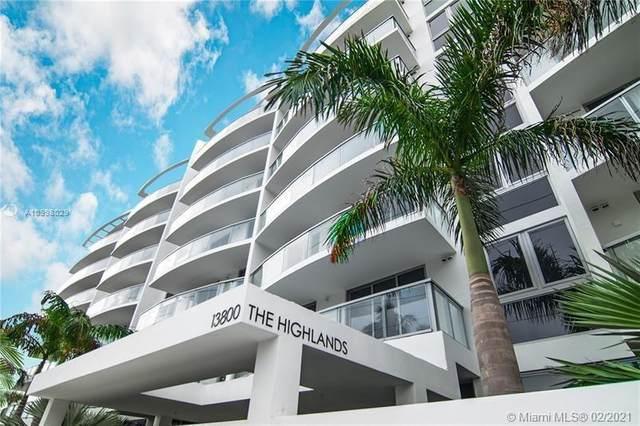 13800 Highland Dr #504, North Miami Beach, FL 33181 (MLS #A10998029) :: The Teri Arbogast Team at Keller Williams Partners SW