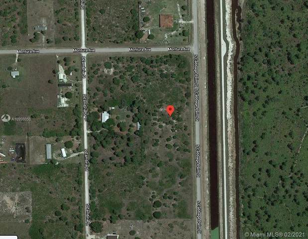 320 Cabbage Palm, Clewiston, FL 33440 (MLS #A10998050) :: Prestige Realty Group
