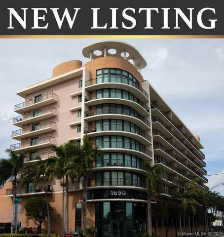 1690 SW 27th Ave #603, Miami, FL 33145 (MLS #A10998262) :: Re/Max PowerPro Realty