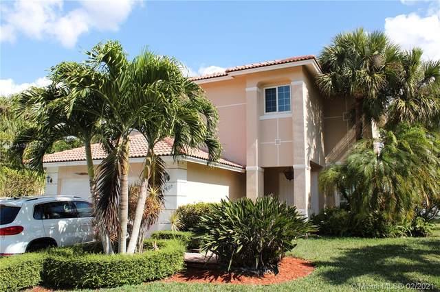 14105 SW 29th St, Miramar, FL 33027 (MLS #A10998574) :: Berkshire Hathaway HomeServices EWM Realty