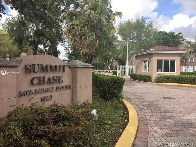 8501 NW 8th St #107, Miami, FL 33126 (MLS #A10998724) :: Compass FL LLC