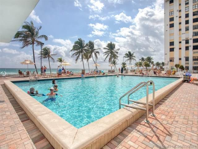 2401 S Ocean Dr #402, Hollywood, FL 33019 (MLS #A10998866) :: Search Broward Real Estate Team