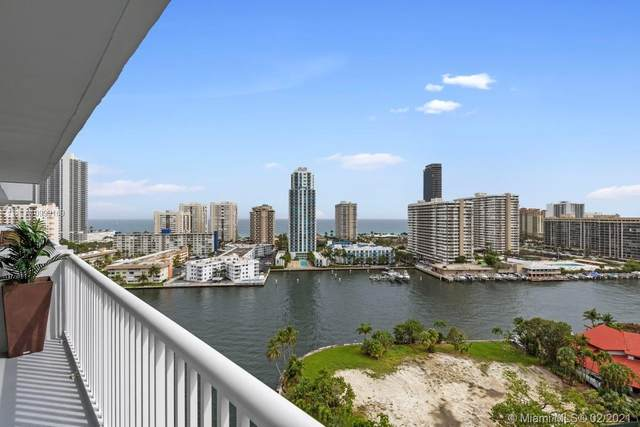 137 Golden Isles Dr #1605, Hallandale Beach, FL 33009 (MLS #A10999169) :: Podium Realty Group Inc