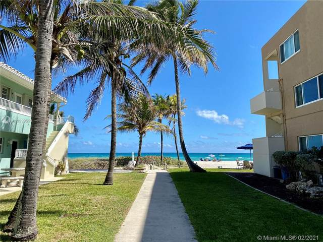 1504 S Surf Rd #67, Hollywood, FL 33019 (MLS #A10999559) :: The Jack Coden Group