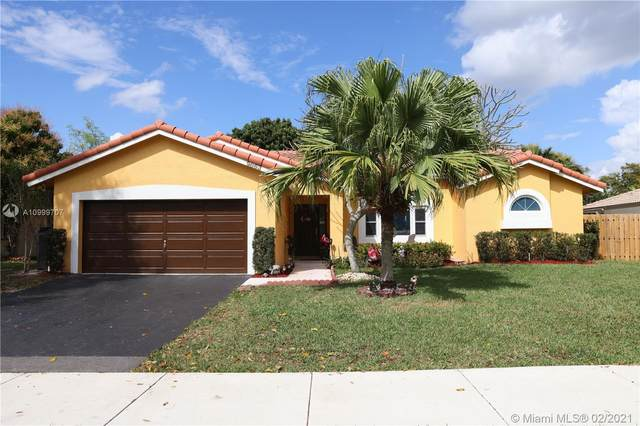 9863 NW 28th St, Coral Springs, FL 33065 (MLS #A10999707) :: The Riley Smith Group