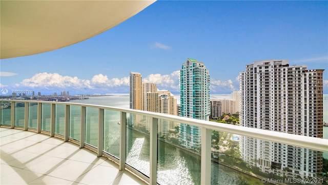 300 S Biscayne Blvd T2708, Miami, FL 33131 (MLS #A10999710) :: The Riley Smith Group