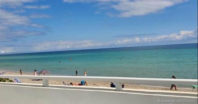 3140 S Ocean Dr #510, Hallandale Beach, FL 33009 (MLS #A10999727) :: Green Realty Properties