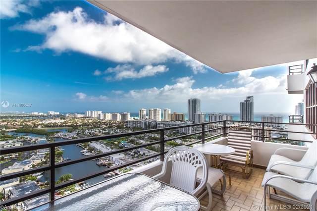 2500 Parkview Dr #2407, Hallandale Beach, FL 33009 (MLS #A11000047) :: Prestige Realty Group