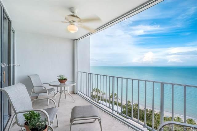 881 Ocean Dr 17D, Key Biscayne, FL 33149 (MLS #A11000099) :: Green Realty Properties